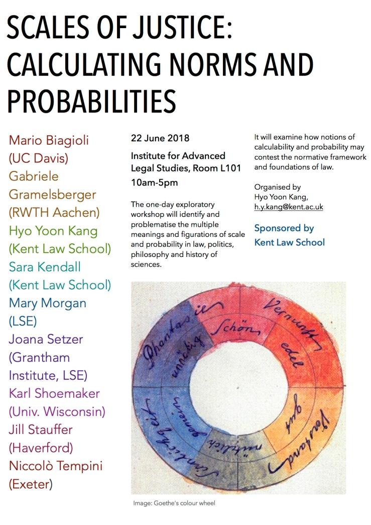 Scales workshop 22 June 2018 poster